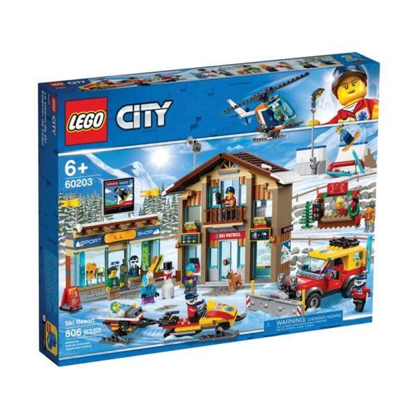 Brickly - 60203 Lego City Ski Resort - Box Front