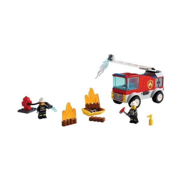 Brickly - 60280 Lego City Fire Ladder Truck