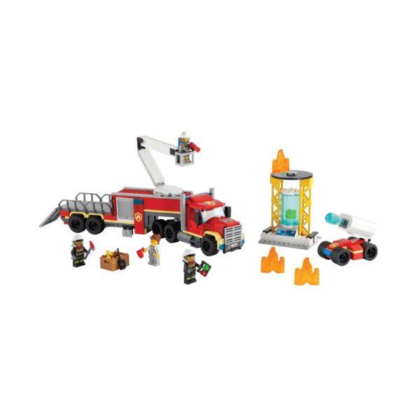 Brickly - 60282 Lego City Fire Command Unit