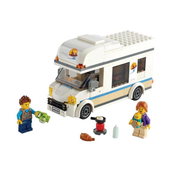Brickly - 60283 Lego City Holiday Camper Van