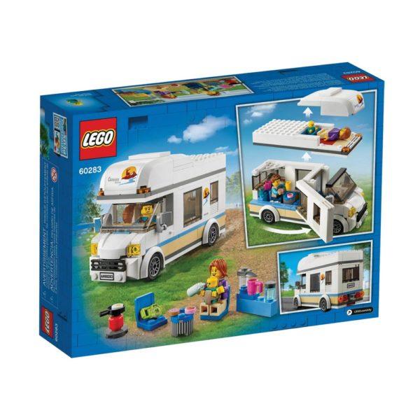 Brickly - 60283 Lego City Holiday Camper Van - Box Back