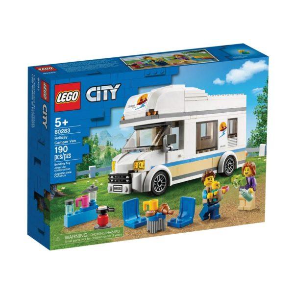 Brickly - 60283 Lego City Holiday Camper Van - Box Front
