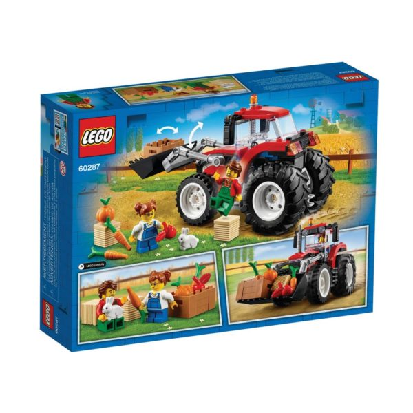 Brickly - 60287 Lego City Tractor - Box Back