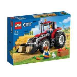 Brickly - 60287 Lego City Tractor - Box Front