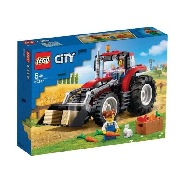 Brickly - 60287 Lego City Tractor - Box Front