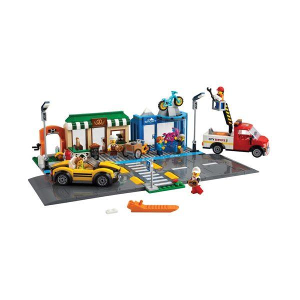 Brickly - 60306 Lego City Shopping Street