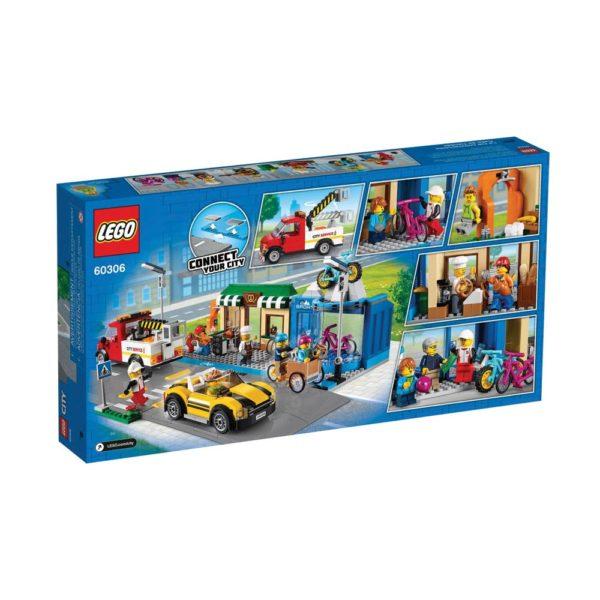 Brickly - 60306 Lego City Shopping Street - Box Back