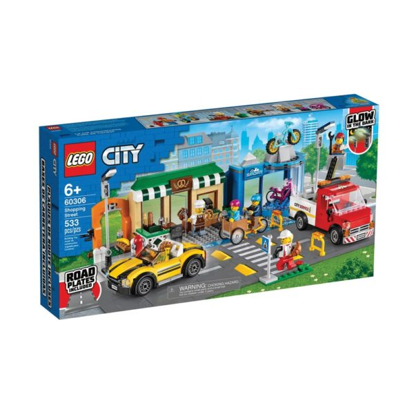Brickly - 60306 Lego City Shopping Street - Box Front