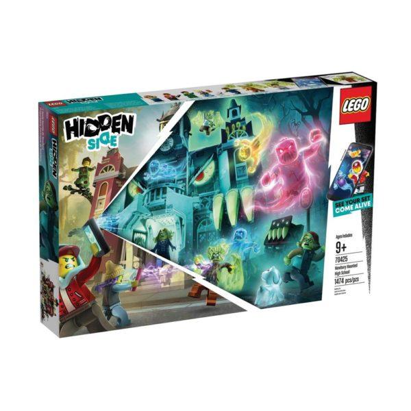 Brickly - 70425 Lego Hidden Side Newbury Haunted High School - Box Front