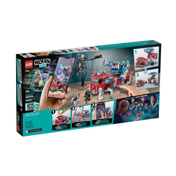 Brickly - 70436 Lego Hidden Side Phantom Fire Truck 3000 - Box Back