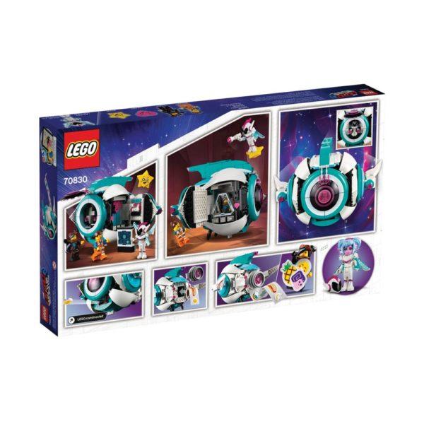 Brickly - 70830 Lego Movie 2 Sweet Mayhem's Systar Starship! - Box Back