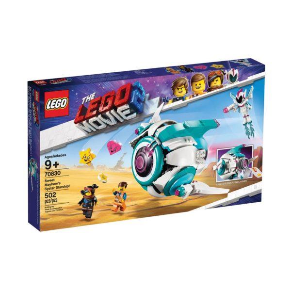 Brickly - 70830 Lego Movie 2 Sweet Mayhem's Systar Starship! - Box Front