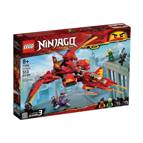 Brickly - 71704 Lego Ninjago Kai Fighter - Box Front