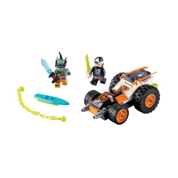 Brickly - 71706 Lego Ninjago Cole's Speeder Car
