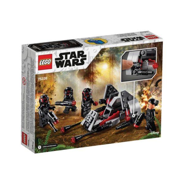Brickly - 75226 Lego Star Wars Inferno Squad™ Battle Pack - Box Back