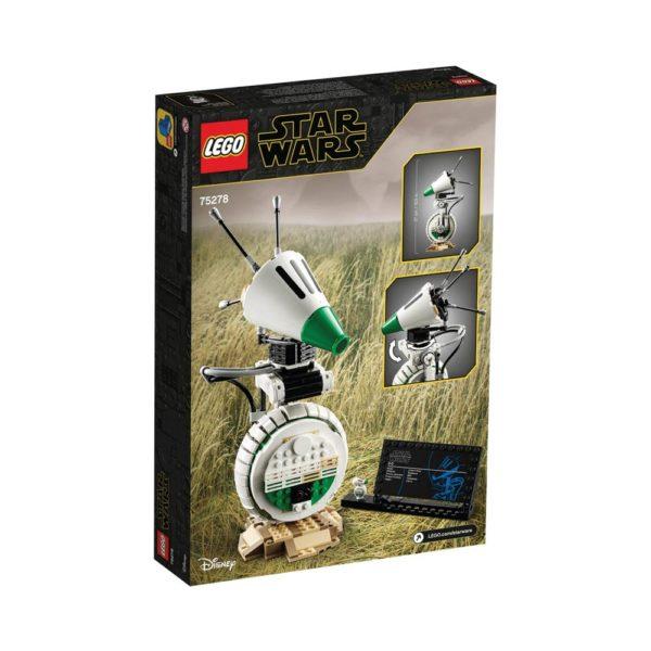 Brickly - 75278 Lego Star Wars D-O™ - Box Back