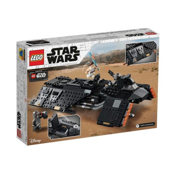 Brickly - 75284 Lego Star Wars Knights of Ren™ Transport Ship - Box Back