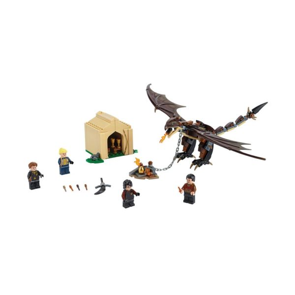 Brickly - 75946 Lego Harry Potter Hungarian Horntail Triwizard Challenge