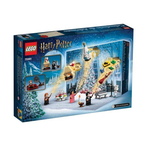Brickly - 75981 Lego Harry Potter Advent Calendar 2020 - Box Back