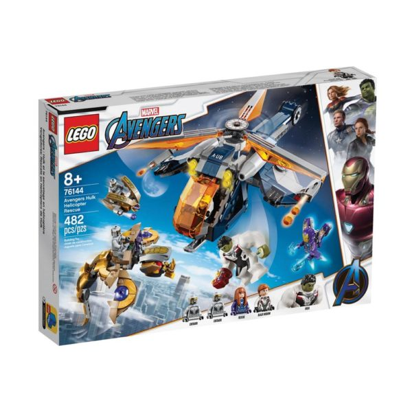 Brickly - 76144 Lego Marvel Avengers Hulk Helicopter Rescue - Box Front