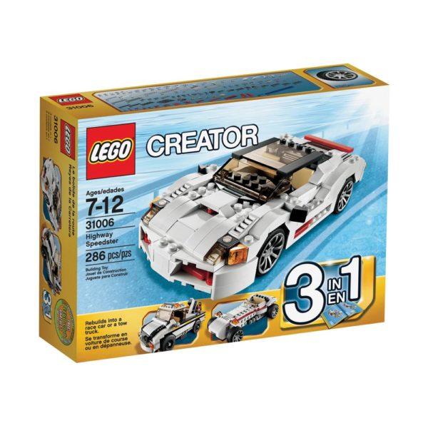 Brickly - 31006 Lego Creator Highway Speedster - Box Front