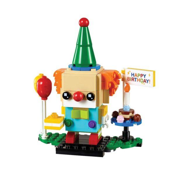 Brickly - 40348 Lego BrickHeadz Birthday Clown