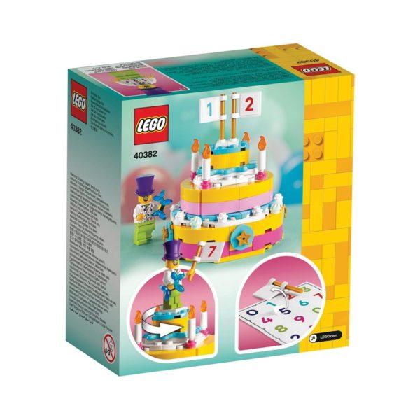 Brickly - 40382 Lego Birthday Set - Box Back
