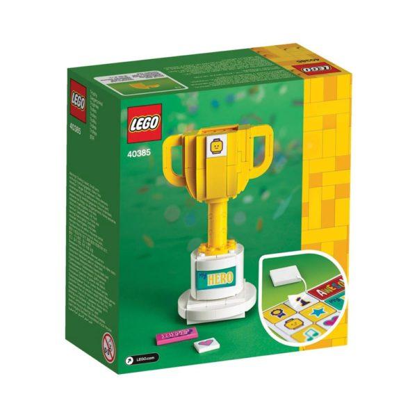Brickly - 40385 Lego Trophy - Box Back