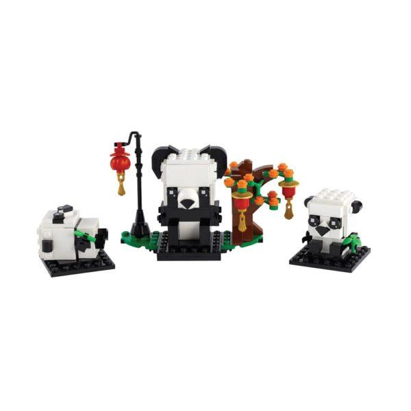 Brickly - 40466 Lego BrickHeadz Chinese New Year Pandas