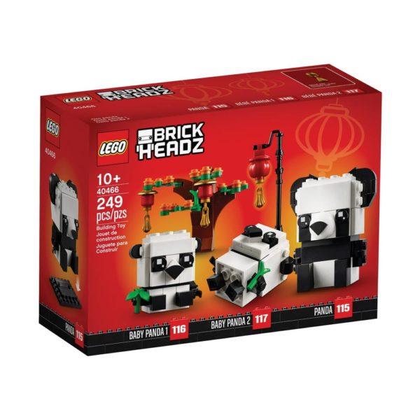Brickly - 40466 Lego BrickHeadz Chinese New Year Pandas - Box Front