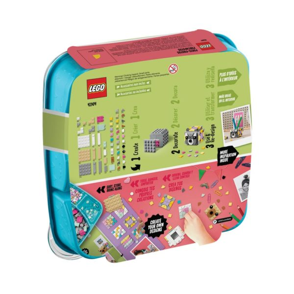 Brickly - 41904 Lego DOTS Animal Picture Holders - Box Back