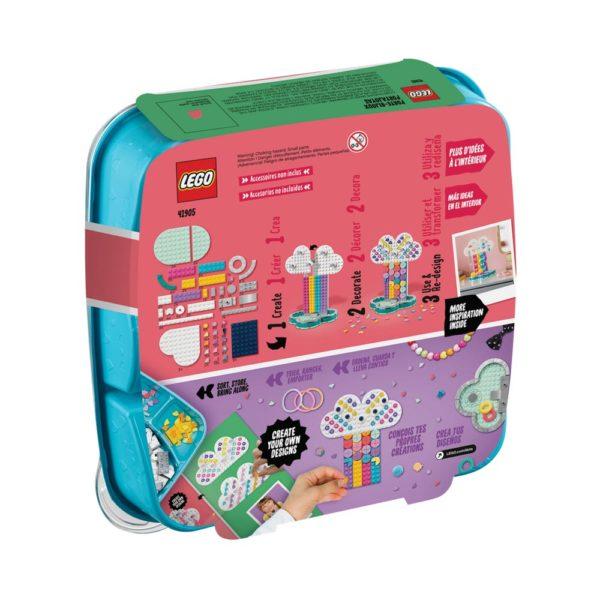 Brickly - 41905 Lego DOTS Rainbow Jewellery Stand - Box Back