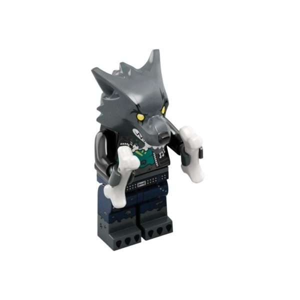 Brickly - 43101-12 Lego Vidiyo Bandmates Series 1 - Werewolf Drummer