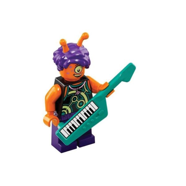 Brickly - 43101-9 Lego Vidiyo Bandmates Series 1 - Alien Keytarist