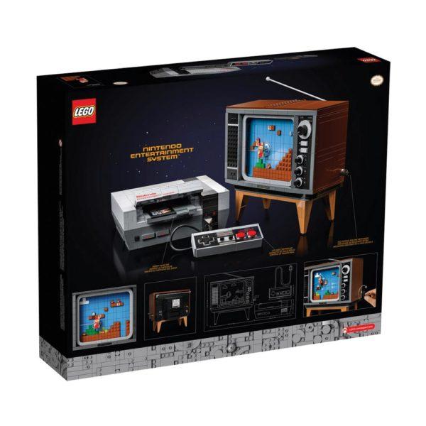 Brickly - 71374 Lego Super Mario Nintendo Entertainment System - Box Back