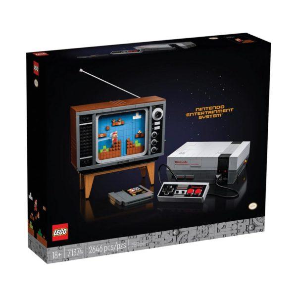 Brickly - 71374 Lego Super Mario Nintendo Entertainment System - Box Front