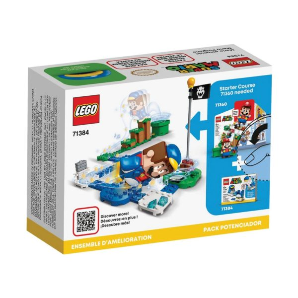 Brickly - 71384 Lego Super Mario Penguin Mario Power-Up Pack - Box Back