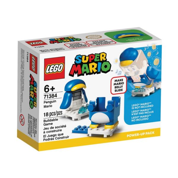 Brickly - 71384 Lego Super Mario Penguin Mario Power-Up Pack - Box Front