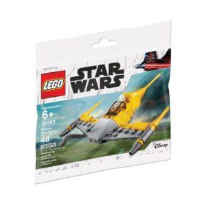 Brickly - 30383 Lego Star Wars - Naboo Starfighter - Bag Front