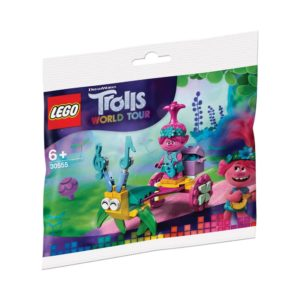 Brickly - 30555 Lego Trolls World Tour - Poppy's Carriage - Bag Front