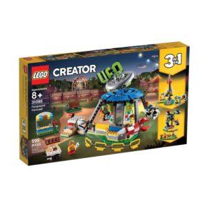 Brickly - 31095 Lego Creator Fairground Carousel - Box Front
