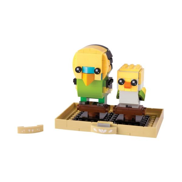 Brickly - 40443 Lego Brickheadz Budgie & Chick