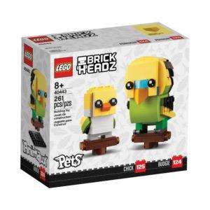 Brickly - 40443 Lego Brickheadz Budgie & Chick - Box Front