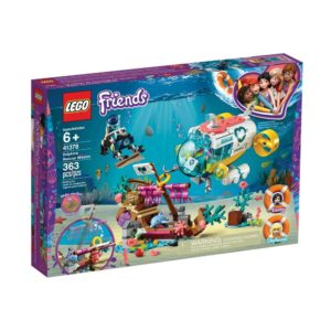 Brickly - 41378 Lego Friends Dolphins Rescue Mission - Box Front