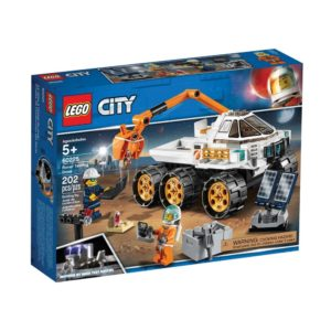 Brickly - 60225 Lego City Rover Testing Drive - Box Front