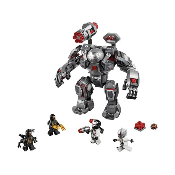 Brickly - 76124 Lego Marvel Avengers War Machine Buster