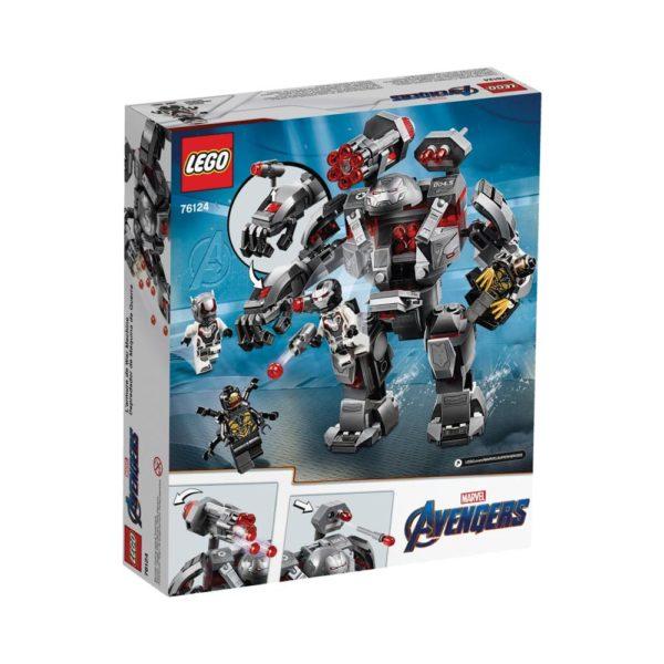 Brickly - 76124 Lego Marvel Avengers War Machine Buster - Box Back