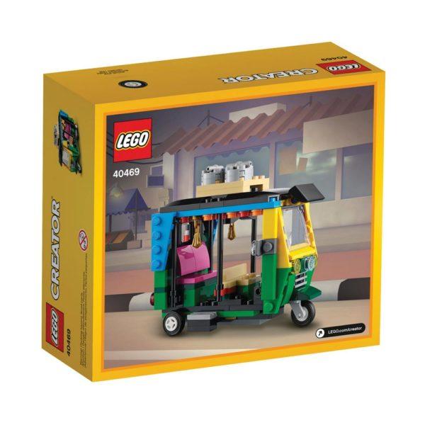 Brickly - 40469 Lego Creator Tuk Tuk - Box Back