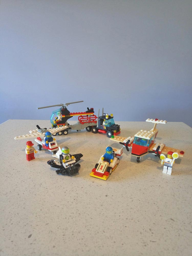 Brickly - About - Childhood LEGO Sets - Various City/System