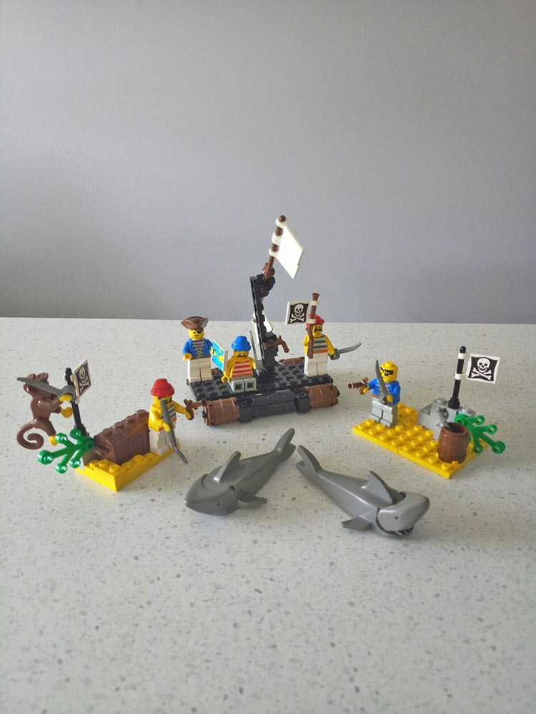 Brickly - About - Childhood LEGO Sets - Pirates